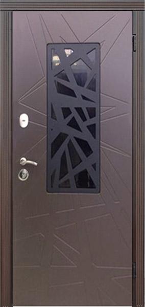 Двері вхідні Optima Ral (860 x 2050).LV-802